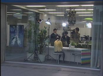 OUA-TVスタジオからお伝えします!!