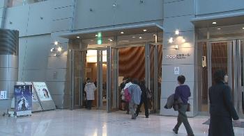 会場はNHK大阪ホール!!