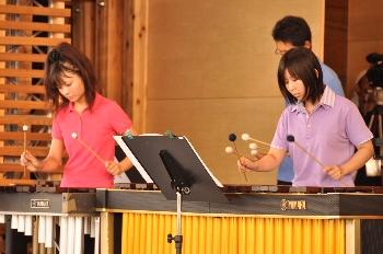打楽器だけとは思えない迫力の演奏でした!