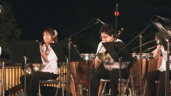演奏学科の学生たちが美しい音色を奏でました!!