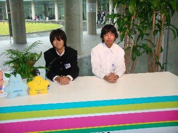 OUA-TVにも来てくれました!!