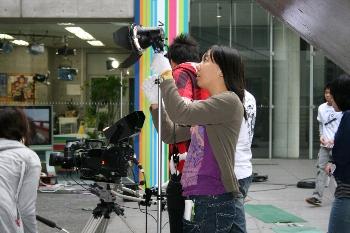 撮影には照明も重要です!