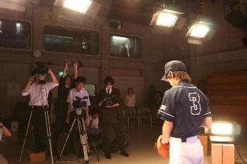 甲子園CMにも学生たちが参加してくれました!!