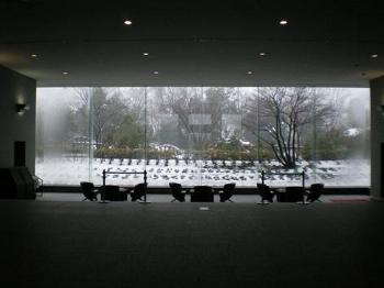 こんなに雪が!!とっても寒そう!!