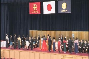 芸大テレビに出演した学生も表彰されました!