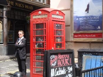 電話ボックスも可愛い!!