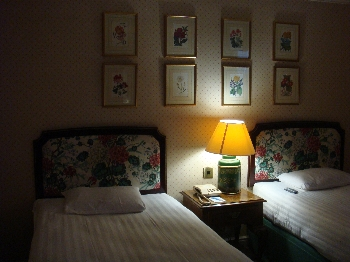 可愛いホテルに大満足!