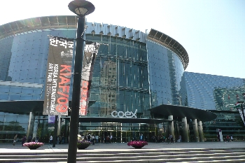 会場はこちらCOEX convention center!!