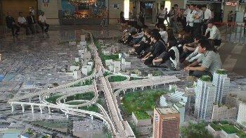 大阪の街が精密に作られています!!