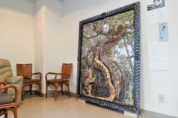 北村章さんの作品『a sacred tree』