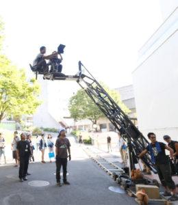 06映画用チューリップクレーンの実技・演習